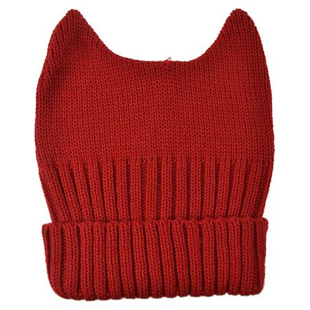 Cupcake Cult Red Evil Beanie Hat