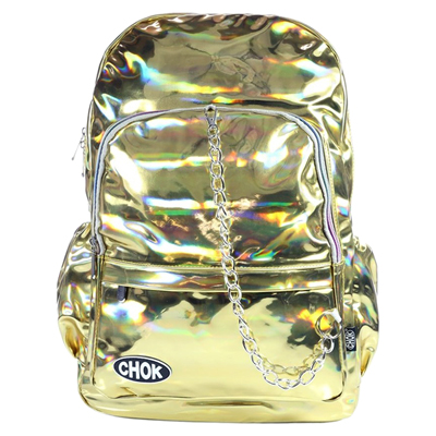 Gold HOLO Backpack