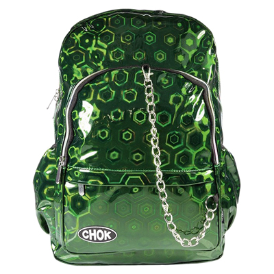 Green HOLO 3D Backpack