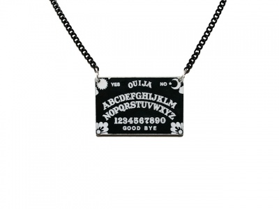 Ouija Board Acrylic Necklace