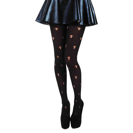 Pamela Mann Opaque Cross Tights
