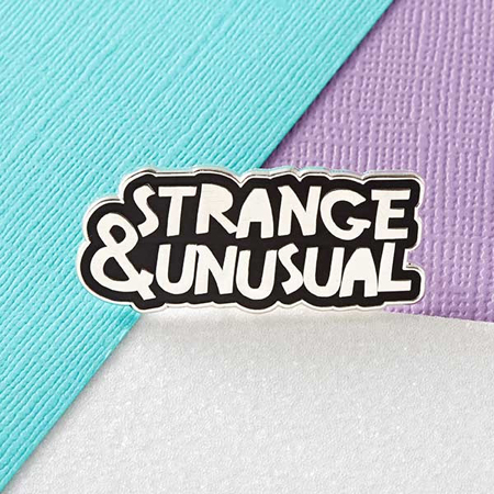 Punky Pins Strange & Unusual Enamel Pin