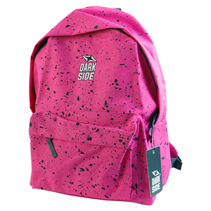 Darkside Pink with Black Splatter Backpack