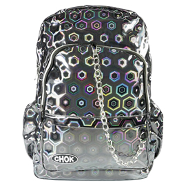 Grey HOLO 3D Backpack