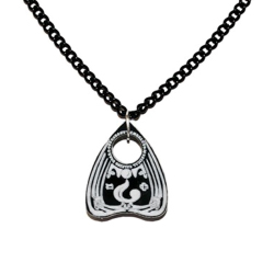 Planchette Acrylic Necklace