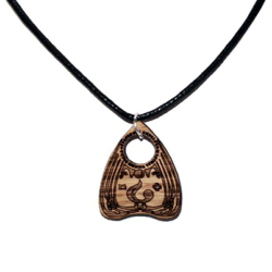 Planchette Wooden Necklace