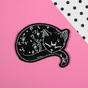 Punky Pins Mystical Cat Iron-On Patch