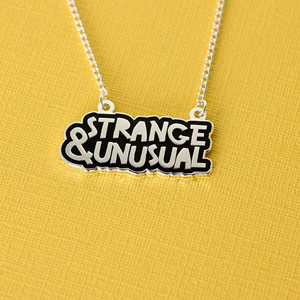 Punky Pins Strange & Unusual Enamel Necklace