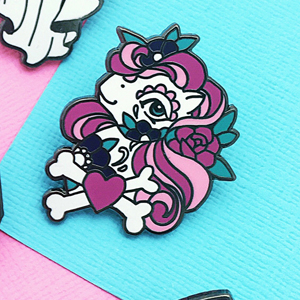 Punky Pins Tattoo Pony Enamel Pin