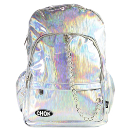 Silver Stripe HOLO Backpack